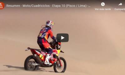 video dakar motos final