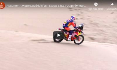 video resumen etapa 3 Dakar 2019