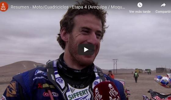 video resument etapa 4 dakar 2019