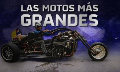 5 motos mas grandes del mundo