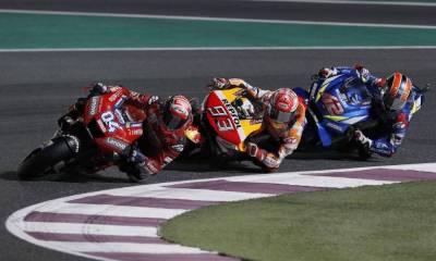 Álex Rins GP Qatar 2019