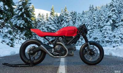 Ducati Scrambler de Jigsaw Customs