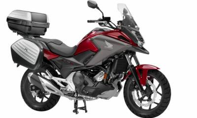 Honda NC750X Travel Edition 2019