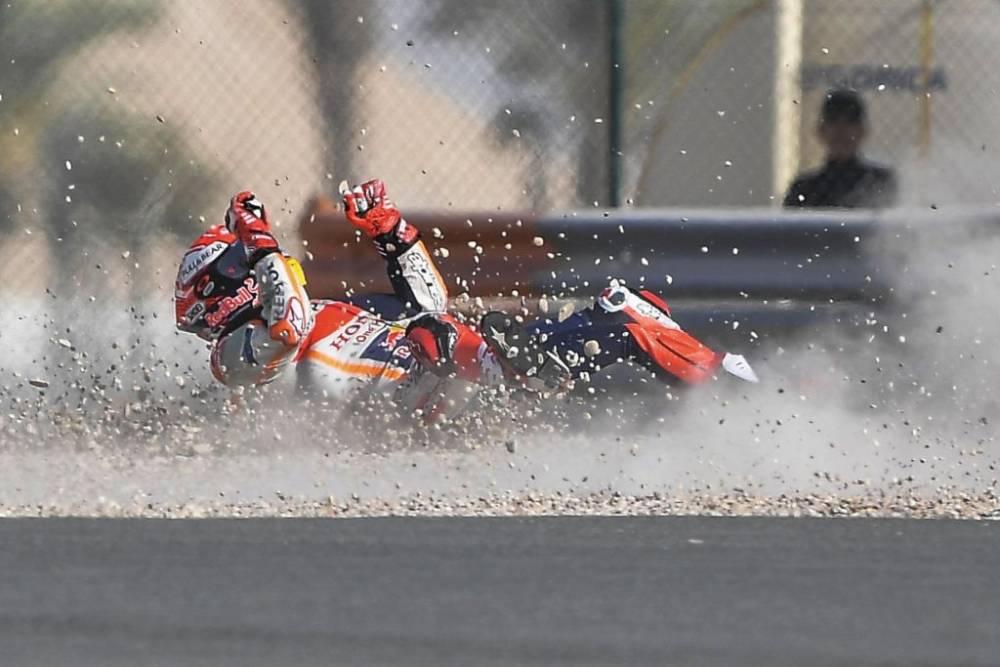 galeria caidas GP Qatar 2019 MotoGP_3