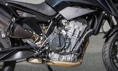 motor KTM bicilíndrico 890