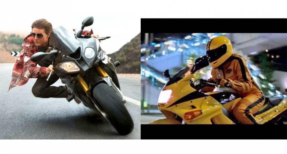 Top 10 motos de película