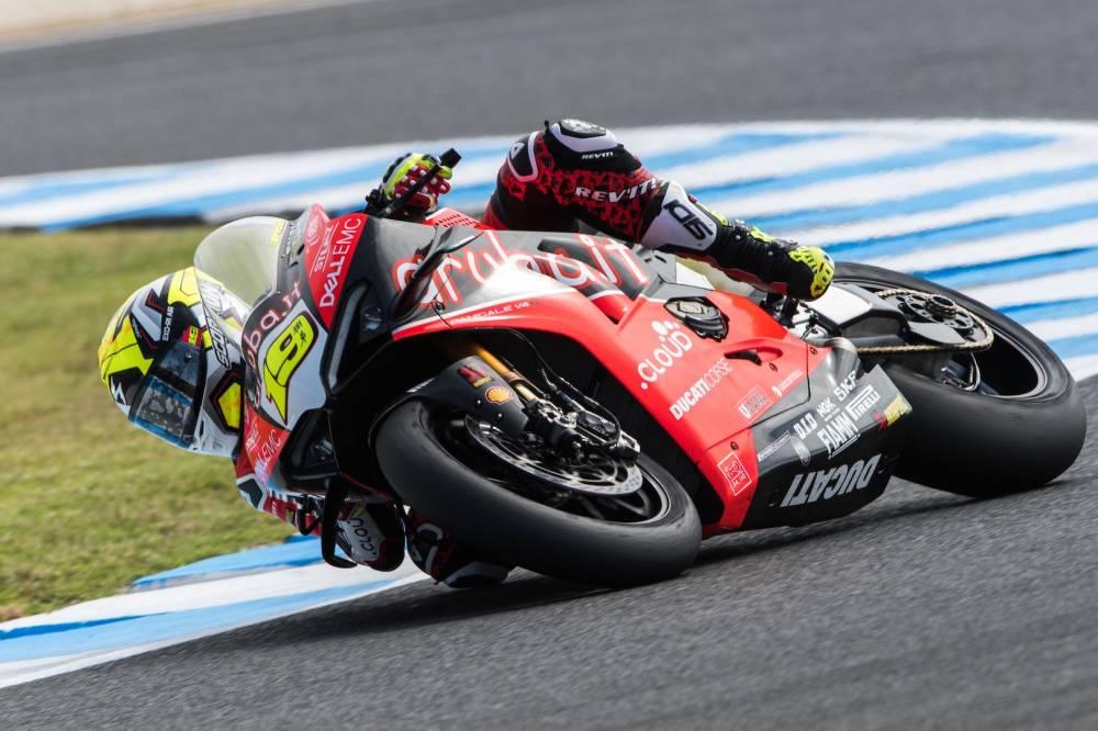 250 rpm menos para Ducati