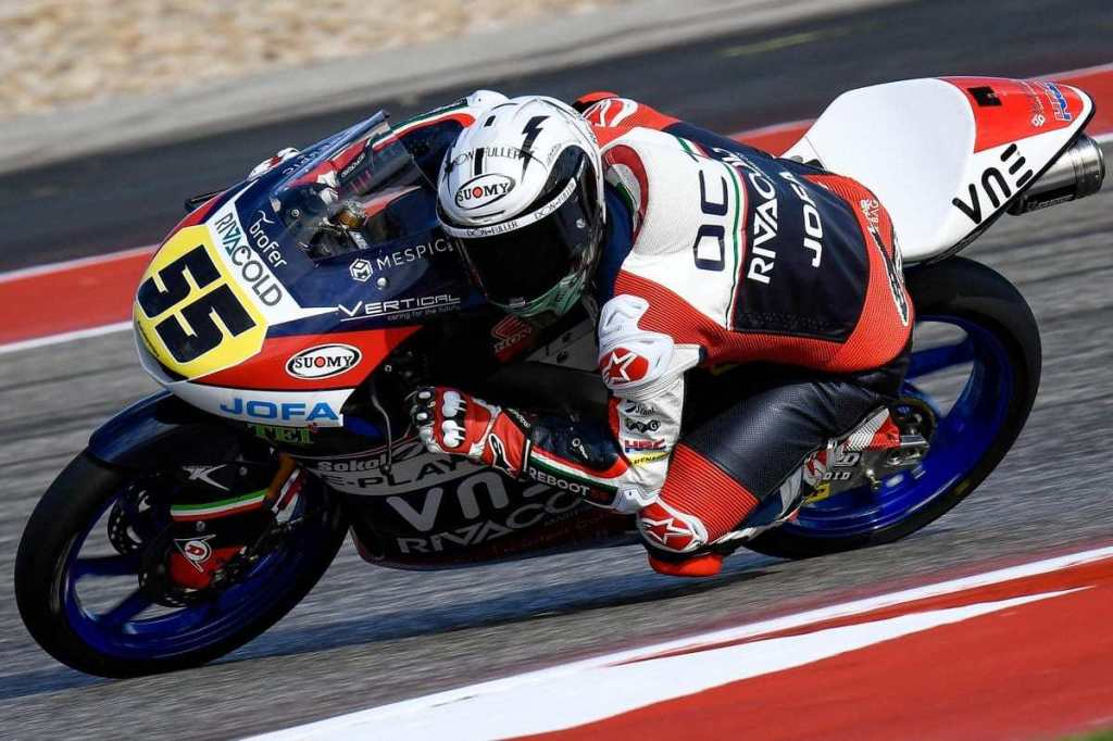 Entrenos Moto3 Las Américas 2019