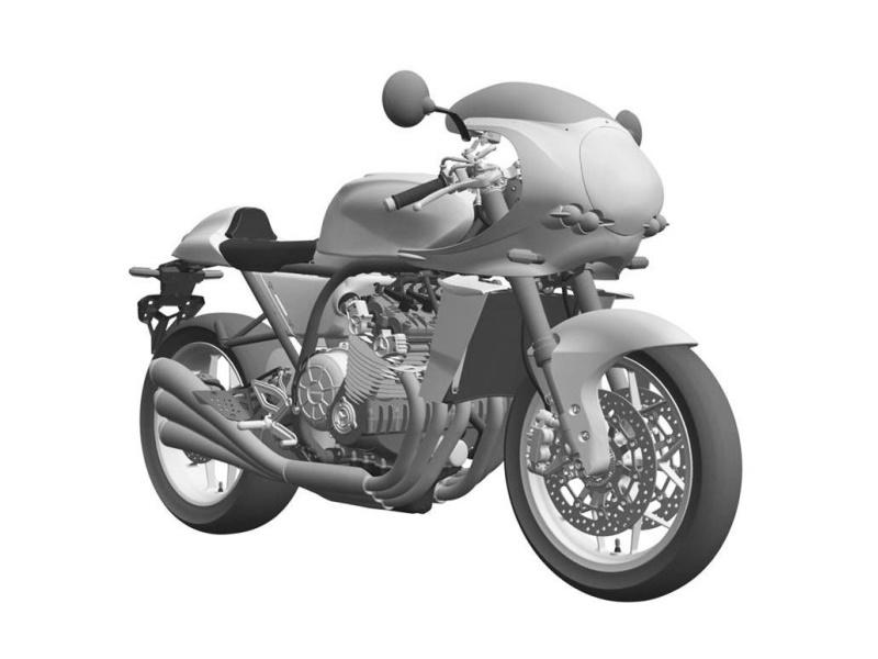Honda CBX 1000 de 6 cilindros