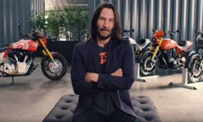 Las motos de Keanu Reeves