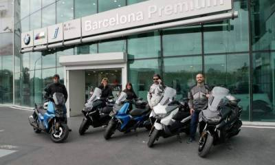 Primer día Cool Week BMW C400