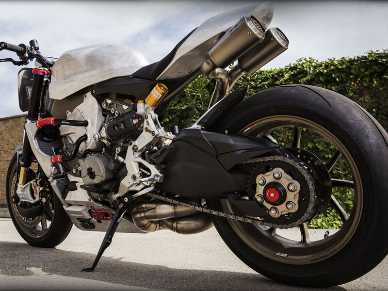 Ducati Superleggera de Roland Sands