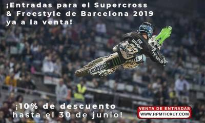 entradas Supercross & Freestyle Barcelona