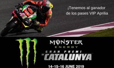 Ganador sorteo entradas GP Catalunya 2019