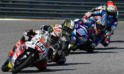 Entrenos Moto3 GP España 2019