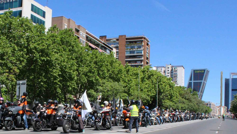 harleys en madrid