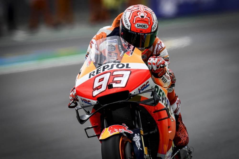 Pole de MotoGP en Francia 2019