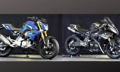 Kit superbike BMW G 310 R