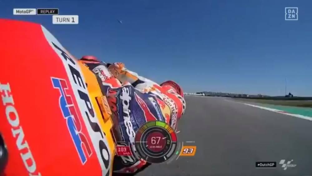 Márquez brutal salvada en la Q2