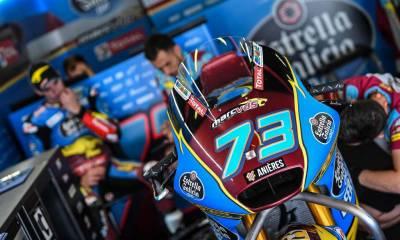 Test Moto2 y Moto3 Montmeló 2019