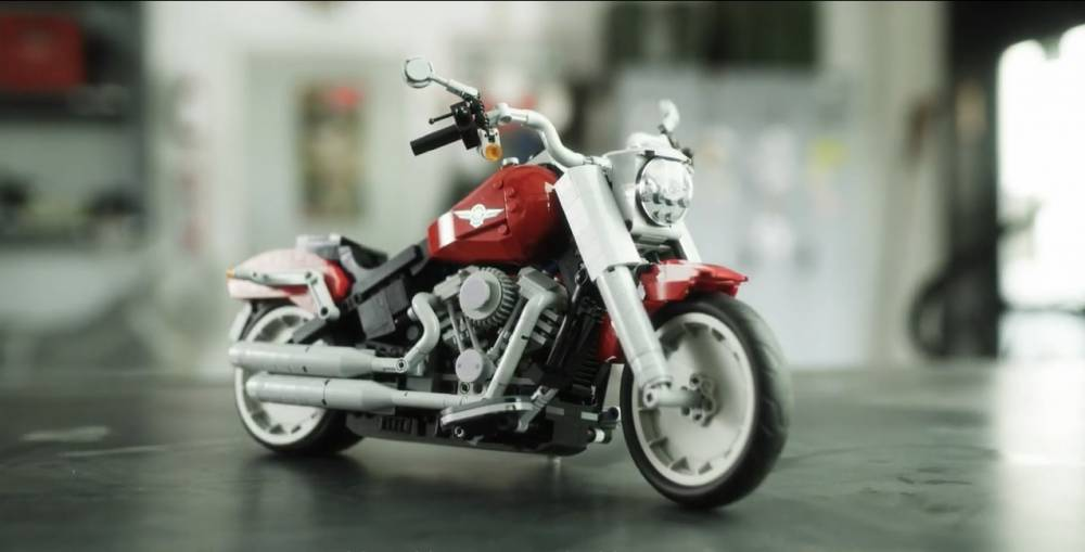 Harley Fat Boy LEGO