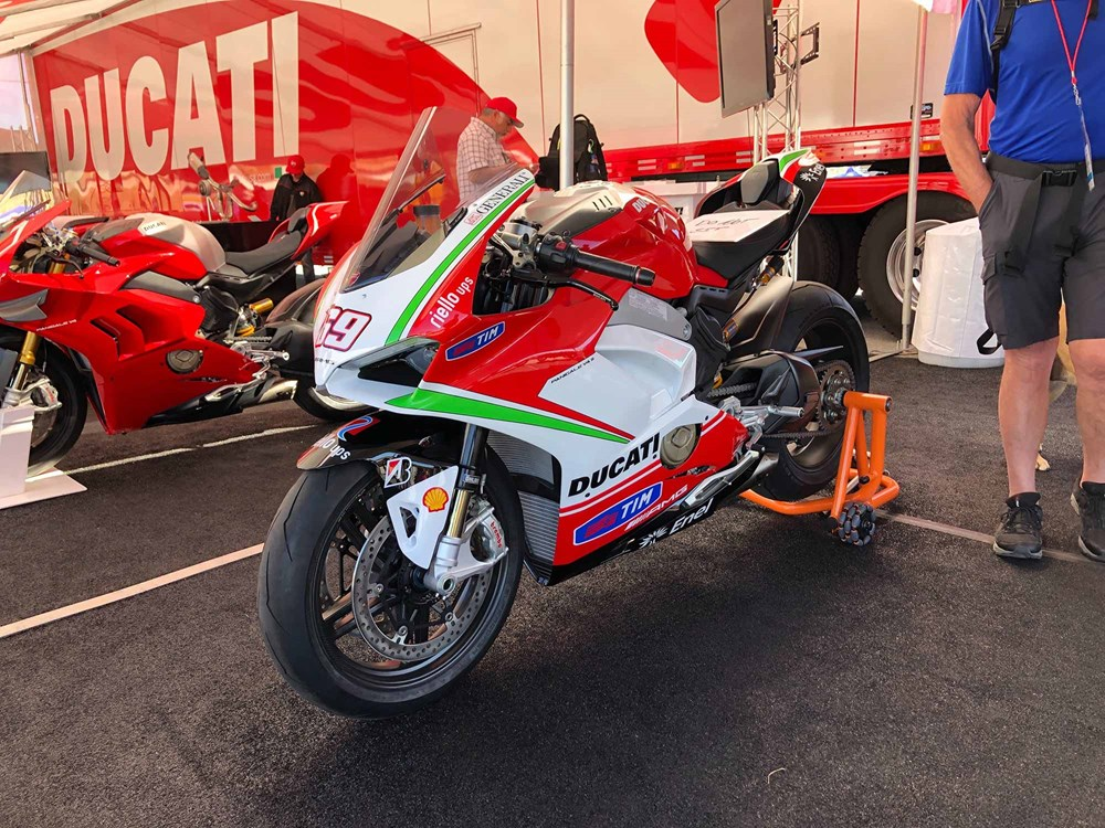 Ducati Panigale V4 Nicky Hayden