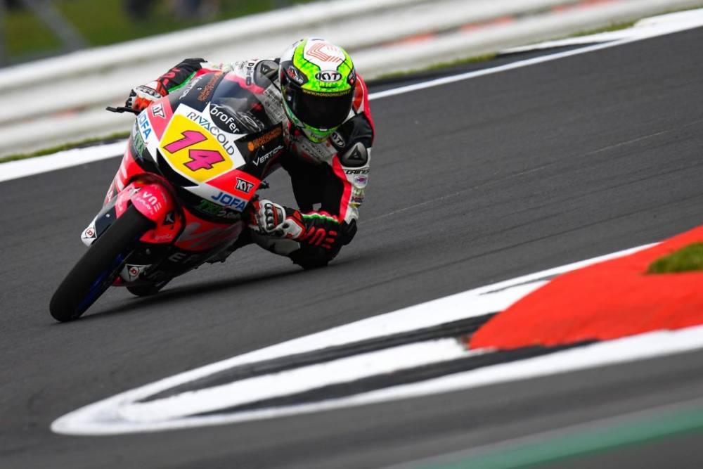 Entrenos Moto3 GP Gran Bretaña 2019