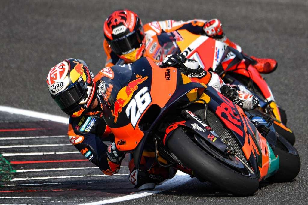Pedrosa KTM más rápida