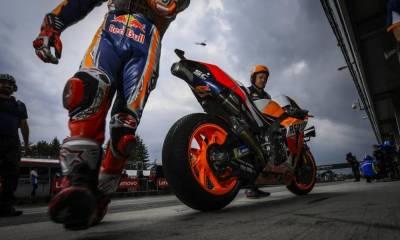 se retrasa la salida de MotoGP