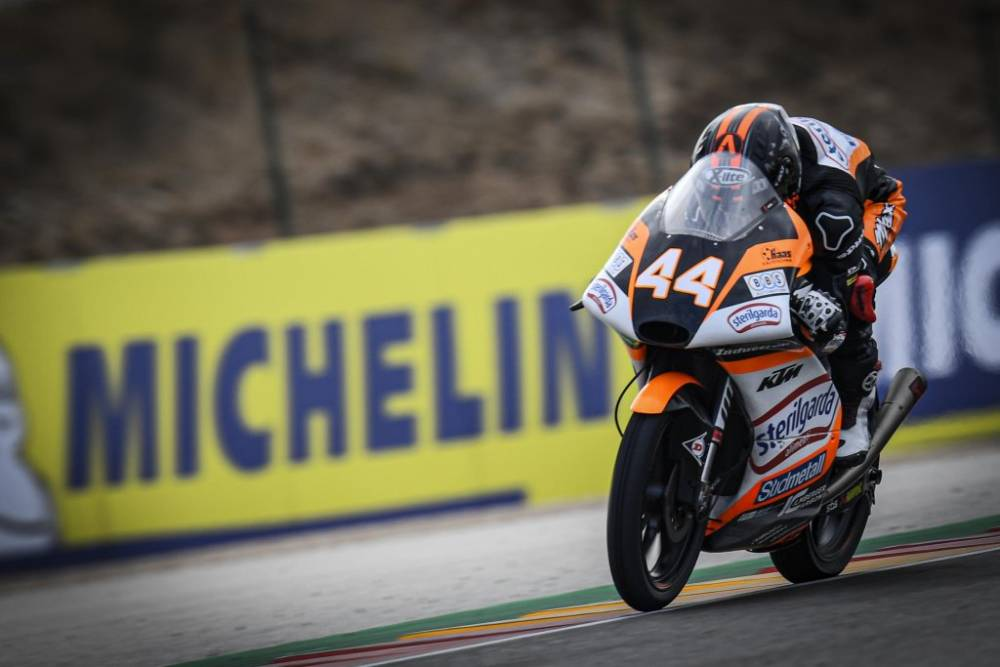 Carrera Moto3 GP Aragón 2019