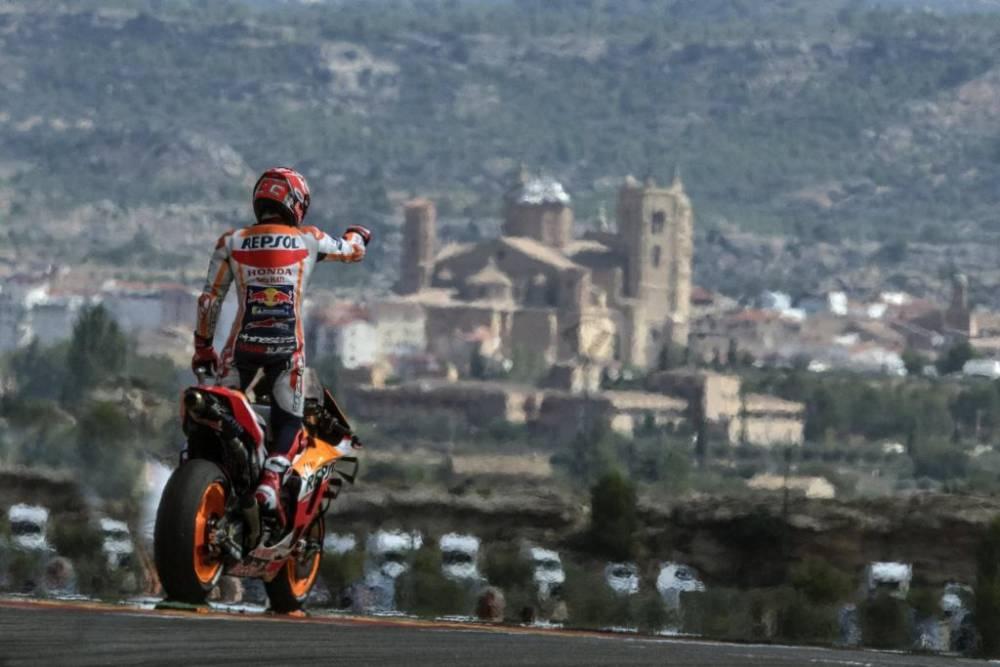 Carrera MotoGP GP Aragón 2019