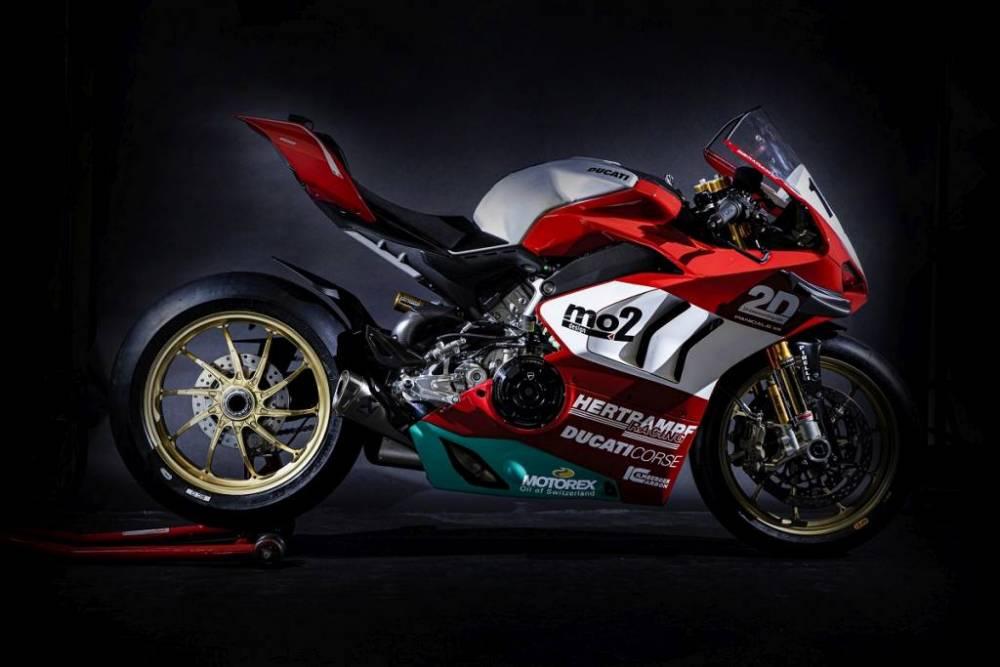 Ducati Panigale V4 R Mundial de Resistencia