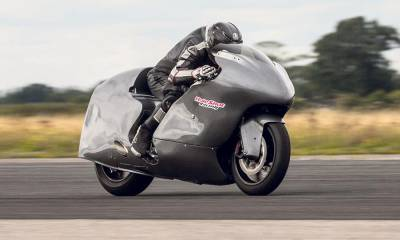 Guy Martin a 436 km/h