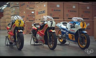 3 restauraciones Suzuki motos Barry Sheene