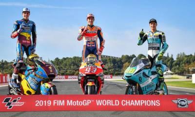 Clasificación Mundial MotoGP 2019