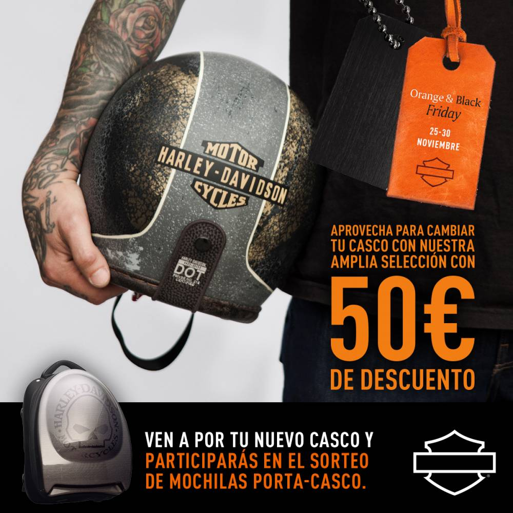 Harley-Davidson Black Friday Casco