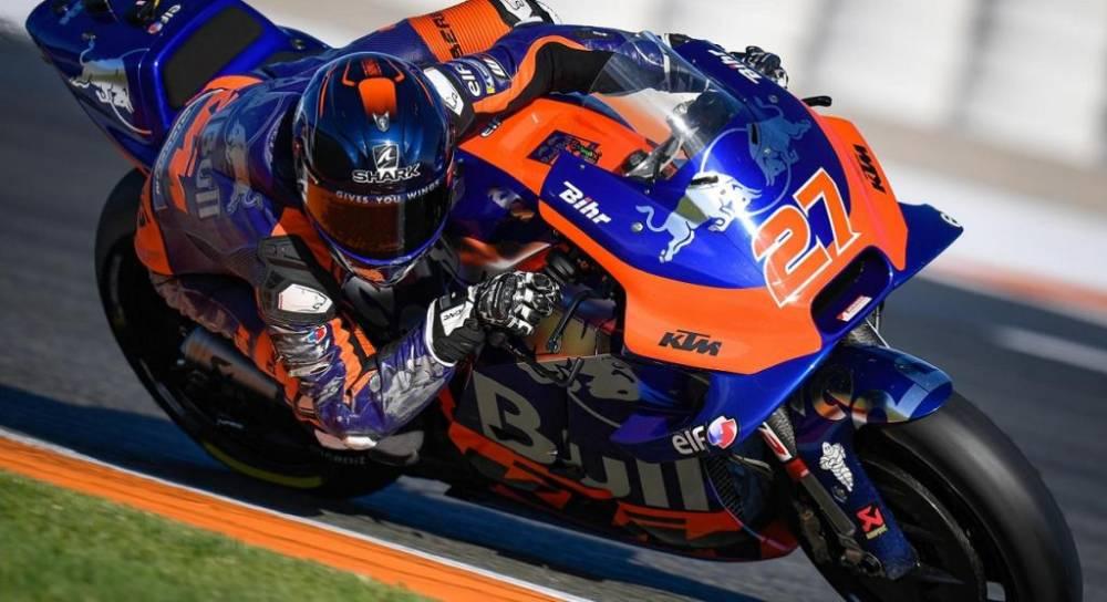 Lecuona Pol con esta moto va muy rápido