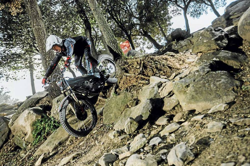 Prueba Montesa Cota 301RR