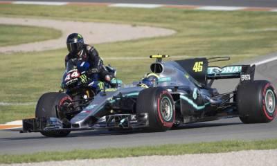 Vídeo completo Rossi y Hamilton