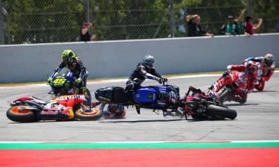 Top 5 caídas MotoGP 2019