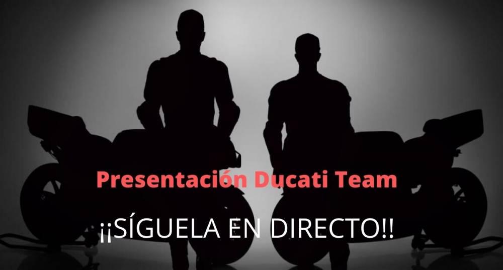 presentación Ducati Team MotoGP 2020