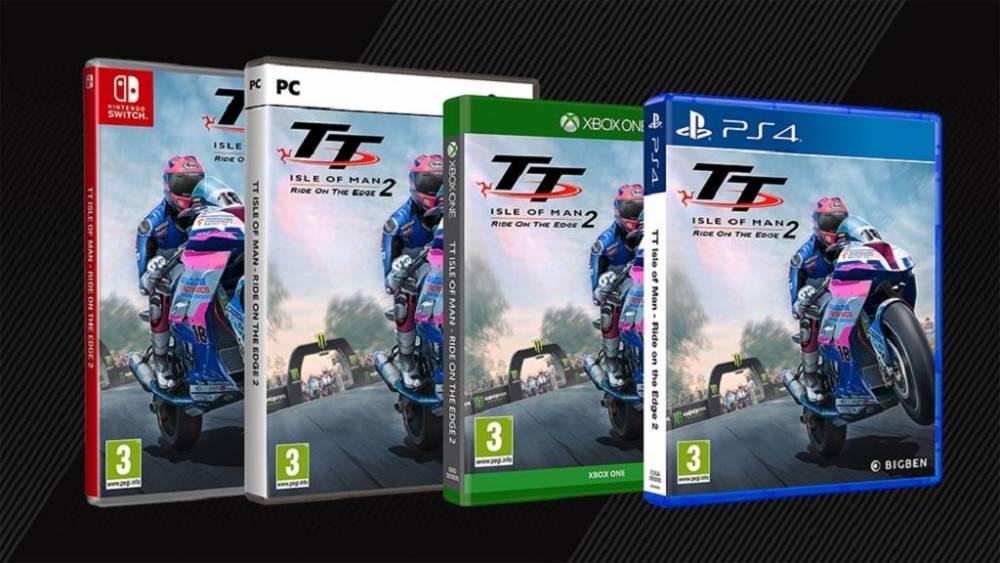 lanzamiento videojuego TT Isle of Man 2