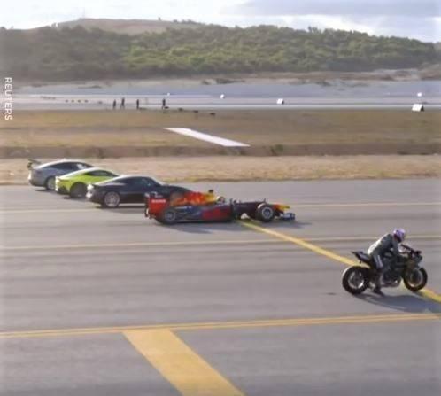 Ninja H2R contra F1