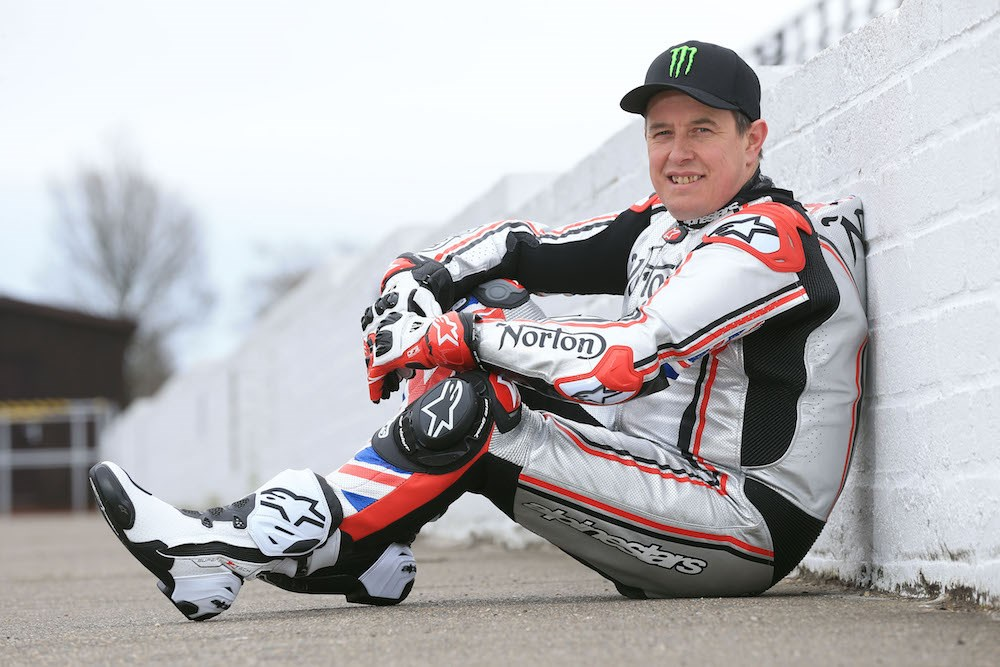 John McGuinness Norton