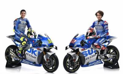 presentación equipo Suzuki MotoGP 2020