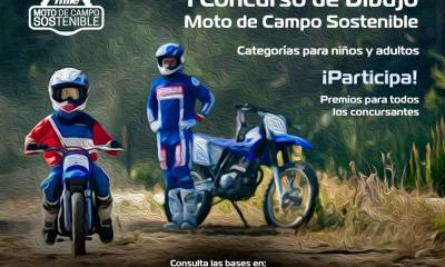concurso de dibujo Moto de Campo Sostenible