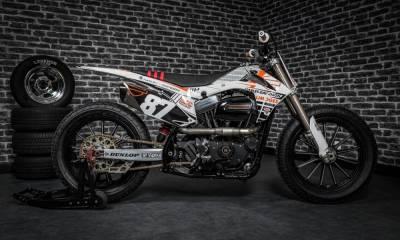 Harley Sportster Flat-Track