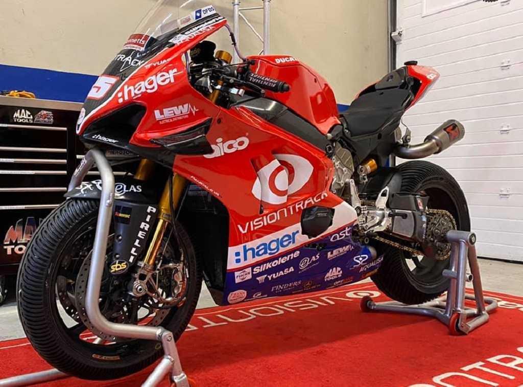 Michael Dunlop TT Isla de Man Panigale V4 R
