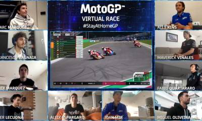 primera carrera virtual MotoGP 2020