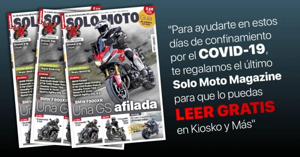Solo Moto abril 2020 gratis